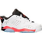 Boys' Preschool Air Jordan Retro 6 Low Basketball Shoes