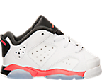 Boys' Toddler Air Jordan Retro 6 Low Basketball Shoes