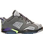 Girls' Preschool Air Jordan Retro 6 Low Basketball Shoes