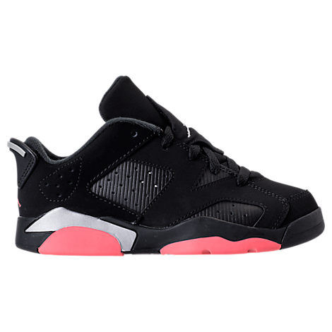 Girls' Preschool Jordan Retro 6 Low Basketball Shoes