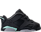 Girls' Toddler Jordan Retro 6 Low Basketball Shoes
