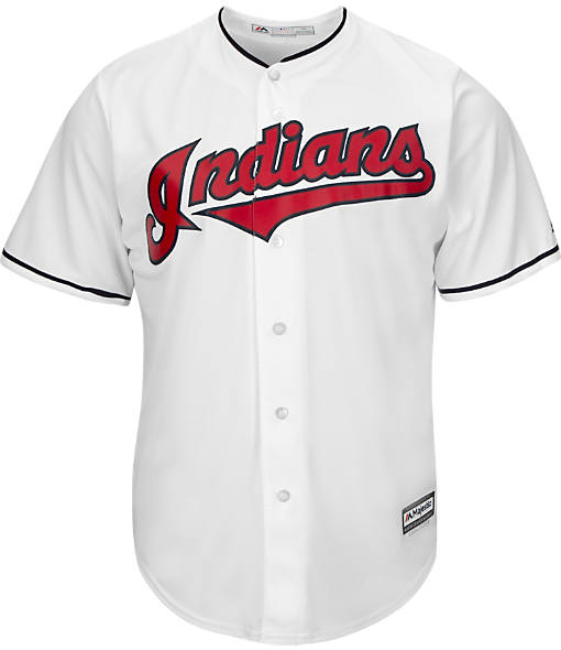 Men's Majestic Cleveland Indians MLB Team Replica Jersey