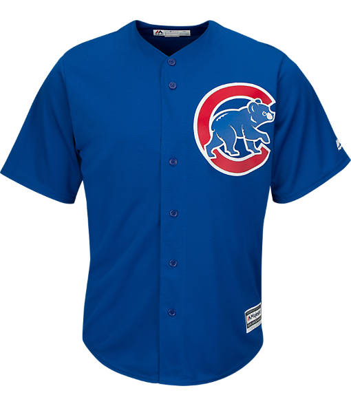 Men's Majestic Chicago Cubs MLB Team Replica Jersey