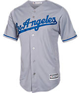Men's Majestic Los Angeles Dodgers MLB Yasiel Puig Replica CB Jersey