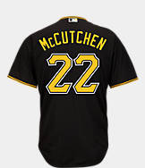 Men's Majestic Pittsburgh Pirates MLB Andrew McCutchen Replica Jersey