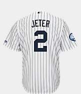 Men's Majestic New York Yankees MLB Derek Jeter Retirement Jersey