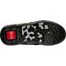 Bottom view of Boys' Grade School Heelys Propel 2.0 Wheeled Skate Shoes in Black/Red/Grey