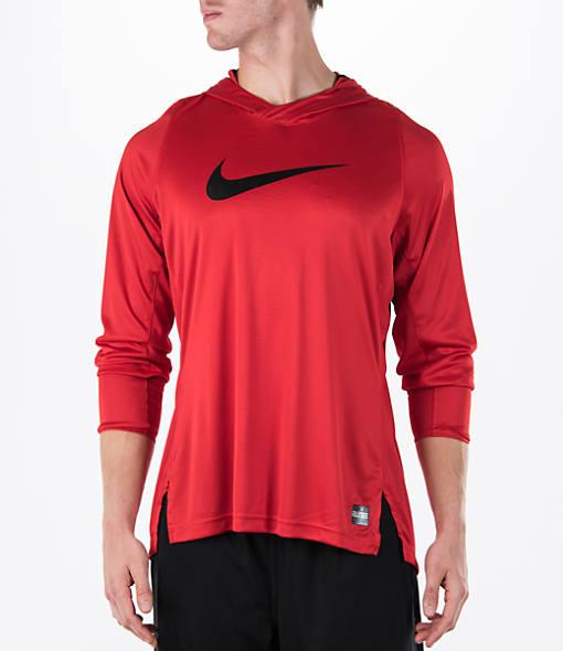 Men's Nike Elite Hooded Shooter Shirt
