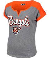 Women's New Era Cincinnati Bengals NFL Pin Sleeve T-Shirt