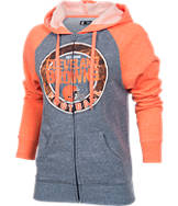 Women's New Era Cleveland Browns NFL Raglan Hoodie