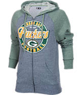 Women's New Era Green Bay Packers NFL Raglan Hoodie