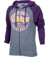 Women's New Era Minnesota Vikings NFL Raglan Hoodie