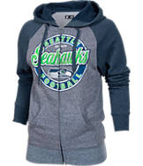 Women's New Era Seattle Seahawks NFL Raglan Hoodie