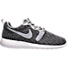 Right view of Men's Nike Roshe One Jacquard Casual Shoes in Wolf Grey/Black/Grey Mist