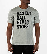 Men's Nike Basketball Never Stops T-Shirt