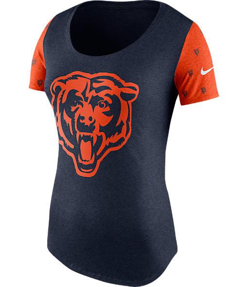 Women's Nike Chicago Bears NFL 1st String T-Shirt