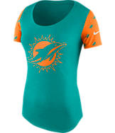 Women's Nike Miami Dolphins NFL 1st String T-Shirt