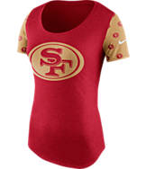 Women's Nike San Francisco 49ers NFL 1st String T-Shirt