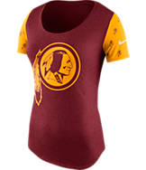 Women's Nike Washington Redskins NFL 1st String T-Shirt