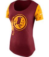 Women's Nike Washington Redskins NFL 1st String T-Shirt