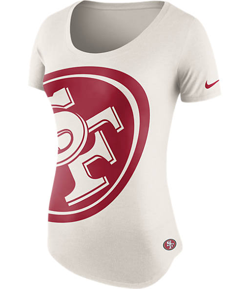 Women's Nike San Francisco 49ers NFL Boyfriend T-Shirt