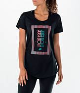 Women's Nike Boyfriend Frequency Just Do It T-Shirt