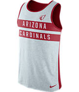Men's Nike Arizona Cardinals NFL Striped Tank