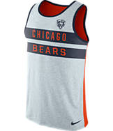 Men's Nike Chicago Bears NFL Striped Tank