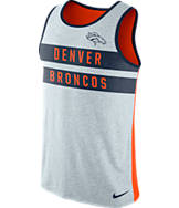 Men's Nike Denver Broncos NFL Striped Tank