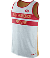 Men's Nike San Francisco 49ers NFL Striped Tank