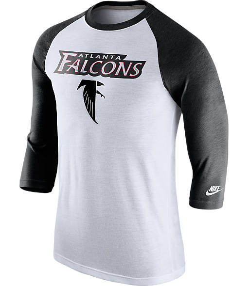 Men's Nike Atlanta Falcons NFL Historic Raglan T-Shirt