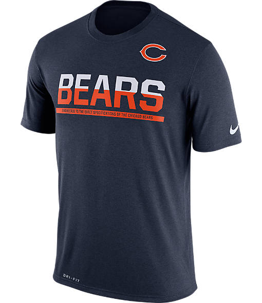 Men's Nike Chicago Bears NFL Practice T-Shirt