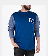 Men's Majestic Kansas City Royals MLB Tech Long-Sleeve Fleece Jacket