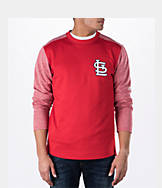 Men's Majestic St. Louis Cardinals MLB Tech Long-Sleeve Fleece Jacket