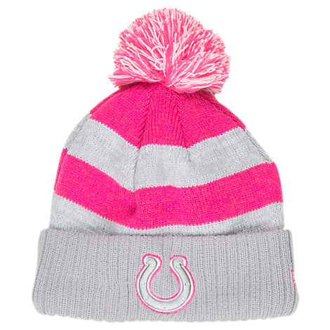 Women's New Era Indianapolis Colts NFL 2016 Breast Cancer Awareness Sport Knit Hat