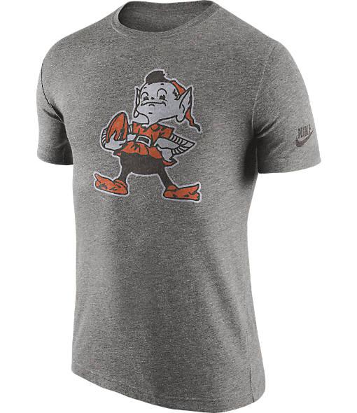Men's Nike Cleveland Browns NFL Historic Logo T-Shirt