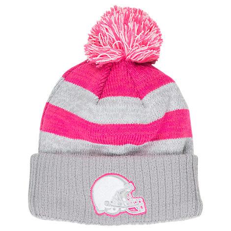 Women's New Era Cleveland Browns NFL 2016 Breast Cancer Awareness Sport Knit Hat