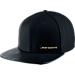 Front view of Jordan 17+ Snapback Hat in Black/Metallic Gold