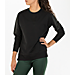 Women's Activ8 Leather Metro Terry Scoop Neck Shirt Product Image