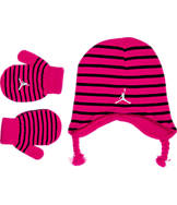 Toddler Jordan Earband Hat and Gloves Set