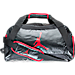 Front view of Jordan Training Day Duffel Bag in Black/Gym Red