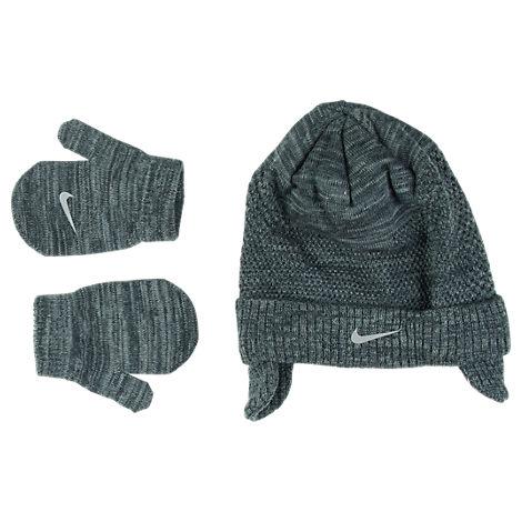 Kids' Toddler Nike Flyknit Hat and Mitten Set