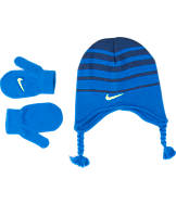 Kids' Toddler Nike Striped Hat and Glove Set