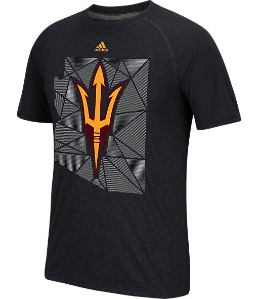 Men's adidas Arizona State Sun Devils College Traditional Tri-Blend T-Shirt