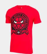 Men's adidas Chicago Bulls NBA Retro Wrap T-Shirt