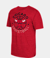 Men's adidas Chicago Bulls NBA Double Dribble Short-Sleeve T-Shirt