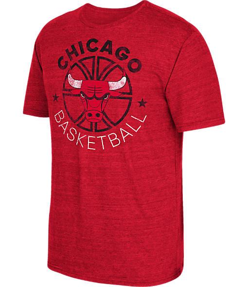 Men's adidas Chicago Bulls NBA Double Dribble Short-Sleeve T-Shirt