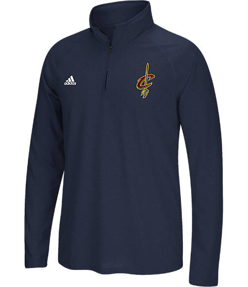Men's adidas Cleveland Cavaliers NBA Ultimate Quarter Zip Shirt