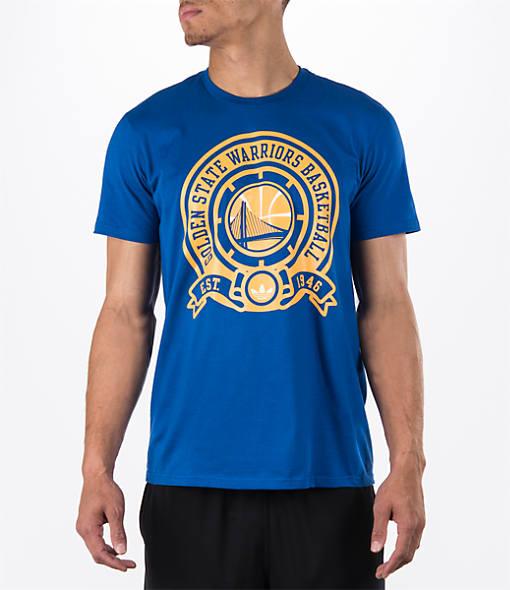 Men's adidas Golden State Warriors NBA Retro Wrap T-Shirt