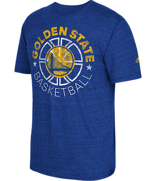 Men's adidas Golden State Warriors NBA Double Dribble Short-Sleeve T-Shirt